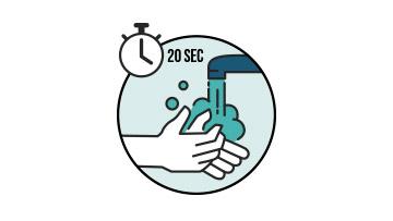 temeljno pranje ruku sapunom i vodom