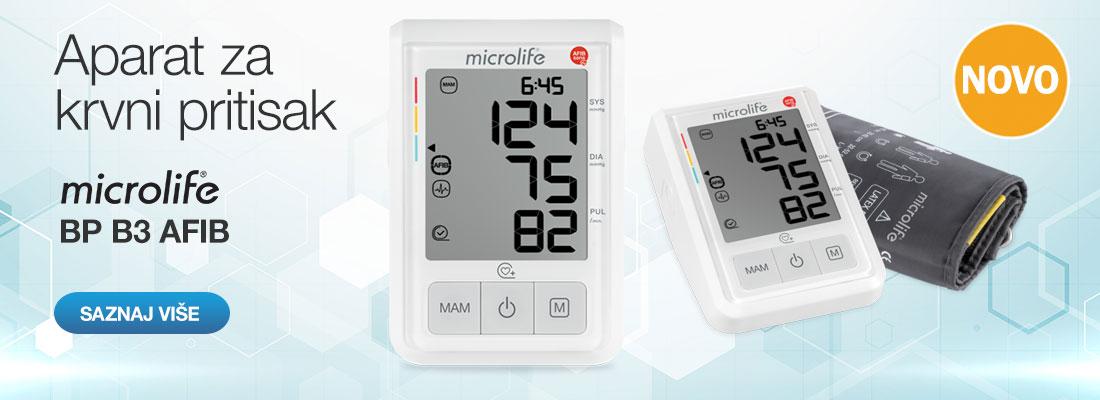 slajder za aparat za merenje krvnog pritiska