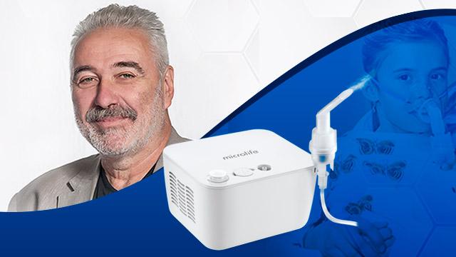 dr branimir nestorovic objasnjava inhalacionu terapiju