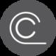 ikona za konusnu manzetnu siva