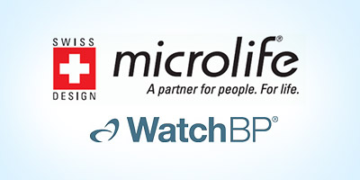 microlife watch bp logo